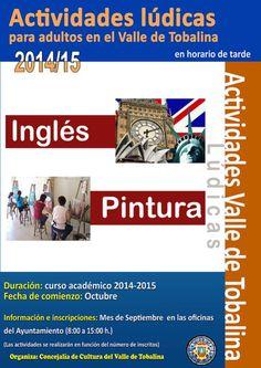 Hasta 30/9 Inscripción a actividades ludicas para adultos. Valle de Tobalina.