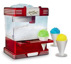 The Countertop Snow Cone Machine, $59.95. | 37 Absurd Kitchen Gadgets You Definitely Need In Your Life
