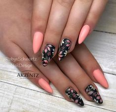 nails – Ala's Styles Discover love for fashion, style and beauty – nails Acrilico Almond Acrylic Nails, Cute Acrylic Nails, Cute Nails, Glitter Nails, Classy Nails, Trendy Nails, Fabulous Nails, Gorgeous Nails, Diy Ongles