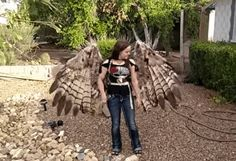 These homemade, human-size, articulating pneumatic wings are just about the coolest creation we've seen all year. And what really makes our hearts soar?