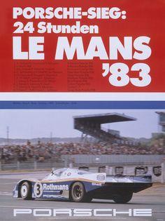 20 banners históricos espectaculares de Porsche de sus victorias en las 24 horas de Le Mans