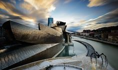 Frank Gehry's Guggenheim museum in Bilbao.