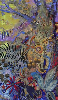 Odilon Redon - Magia simbolista - Pintura y Artistas Modern Art, Contemporary Art, Odilon Redon, Garden Painting, Art Plastique, Oeuvre D'art, Art History, Abstract Art, Illustration Art