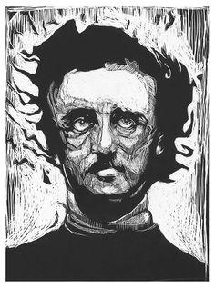 Edgar Allan Poe on Behance