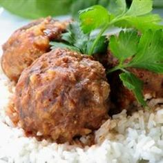 Zesty Porcupine Meatballs Allrecipes.com