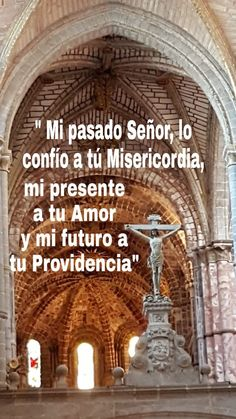 Jesus Is Lord, Jesus Christ, Catholic Prayers In Spanish, Barcelona Cathedral, Faith, Inspirational, Amor, Jesus Is, Words Quotes