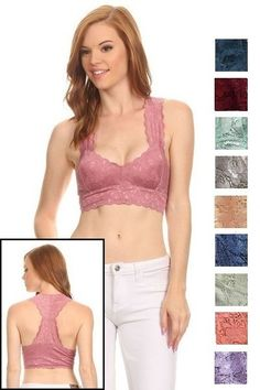 OMG Gotta have this! Sweetheart Lace R... And you can just click here http://www.rkcollections.com/products/sweetheartlaceracerbackbralette?utm_campaign=social_autopilot&utm_source=pin&utm_medium=pin