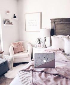 Home decor bedroom Dream Rooms, Dream Bedroom, Home Decor Bedroom, Bedroom Ideas, Diy Bedroom, White Bedroom, Teen Bedroom, Bedroom Inspo, Tumblr Rooms