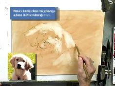 Pat Weaver Watercolor Demonstration Video using clay board