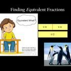 This lesson takes students through the basic process of finding equivalent fractions. At the end, there is a mimio checkpoint (could be used as the...
