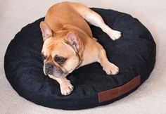 Denim dog bed design dog pillow petbed