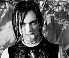 "Matt tuck from the ""Tears Don't Fall"" official music video Gerard Way, Good Morning Gorgeous, Goth Guys, Bullet For My Valentine, Gothic Metal, Wild Hair, Male Face, Attractive Men, Music Bands"