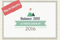 En el blog de Caloryfrio.com queremos aprovechar estos días para hacer balance de lo que ha sido el 2015 y fijar nuevos retos para el 2016.
