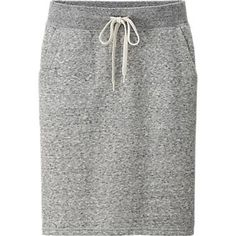 This women's skirt is prewashed for a contoured feel and a gentle, natural texture. The slim fit and knee-length cut are attractive and feminine, making it a great option for trendy chic looks. A ribbed waist and draw cord add style accents and help creat Modest Outfits, Modest Fashion, Cool Outfits, Apostolic Fashion, Cute Skirts, Mini Skirts, Modest Workout Clothes, Sport Mode, Look Fashion