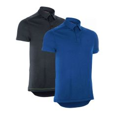 Wiggle | dhb Short Sleeve Merino Polo-Pack of 2 | Short Sleeve Cycling Jerseys