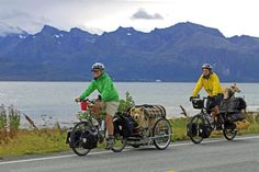 crazyguyonabike.com: Bicycle Touring: Cycling with Dogs Q, by Fin Gypsy