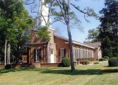 Sugaw Creek Presbyterian, Charlotte, NC Established 1755.