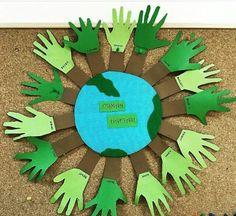Earth Day, Natural, Bulletin Boards, Crafts, School, Manualidades, Art, Sustainability, Bulletin Board