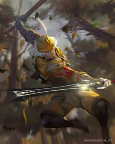 View an image titled 'Ranger Art' in our Mobius Final Fantasy art gallery featuring official character designs, concept art, and promo pictures. Arte Final Fantasy, Mobius Final Fantasy, Fantasy Rpg, Game Character Design, Character Concept, Character Art, Concept Art, Fantasy Warrior, Painting Process
