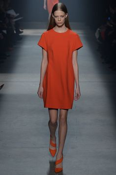 Narciso-Rodriguez fall-2014 red