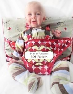 Travel High Chair Sewing Pattern  #1 of 4 different designs for this portable…