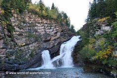Cameron Falls  Waterton Lakes National Park, Alberta, Canada