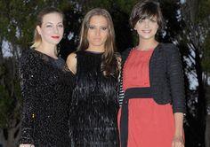Ana Fernández, Macarena Gómez y Natalia Rodríguez, tres chicas 'de miedo' premiadas en Málaga #actrices #famosas