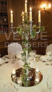 winter flower candelabra - Google Search