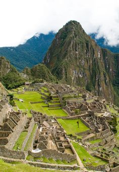 Machu Picchu is just one of the many historical and archaeological treasures of Peru.