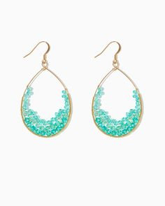 charming charlie | Geode Dangle Earrings | UPC: 410007197748 #charmingcharlie