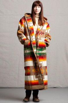 Reversible Long Coat, Chief Joseph, Khaki_1
