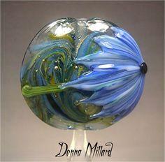 SRA HANDMADE LAMPWORK Focal Bead Donna Millard by DonnaMillard, $37.50