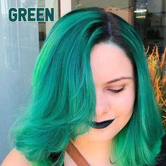 Temporary Color Hair Wax - GREEN