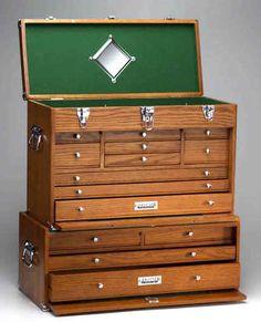 Antique Gerstner Amp Son Oak Mechanics Machinist Oak Hobby