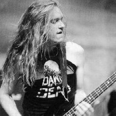 It's so wrong that this dude died cliff burton. metallica.