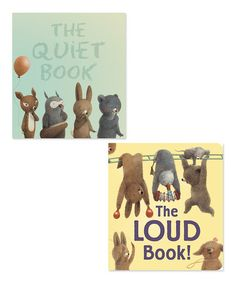 This The Quiet & Loud Books Board Book Set is perfect! #zulilyfinds