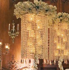 Photo: Larry Fagala ~ Tablescape: Events in Bloom  #tablescapes #wedding #weddingdecor #weddingsinhouston