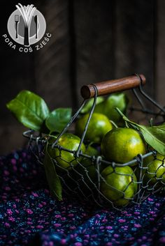 Food photography, food art - dark green tangerines.