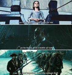 Pirates of the Caribbean Songs