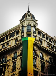 Building at Se Square is ready for the World Cup - Sao Paulo, Brazil