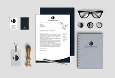 Hildermann Design. Neues Logo-Design, neue Visitenkarten und neues Briefpapier.