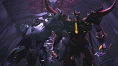 Transformers Prime Beast Hunters S03 E09 Evolution Megatron and Predaking.