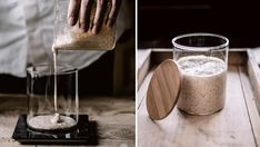 Starter til surdeigsbrød - Oppskrift - Godt. V60 Coffee, Coffee Maker, Kitchen Appliances, Favorite Recipes, Baking, Coffee Maker Machine, Diy Kitchen Appliances, Coffee Percolator, Home Appliances