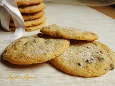 biscotti con cioccolato e noci -