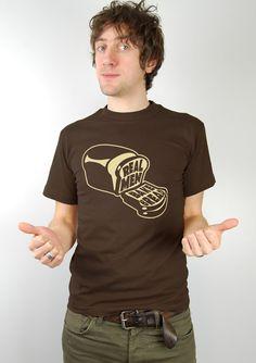 'Real Men Bake Bread' t-shirt