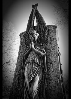 Praying Angel at the Lakeview Cemetery in Cleveland Ohio. http://www.thefuneralsource.org/cemohcuya-001.html