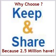 Keep&Share helps you organize, share, and collaborate both privately and securely through their suite of powerful web apps. It's ideal for workgroups, businesses, and webmasters. The suite of Keep&Share web apps include: Online calendars, File & Photo sharing, Task Management, Online Databases, and Contact Management across your desktop or mobile - all you need is a browser.