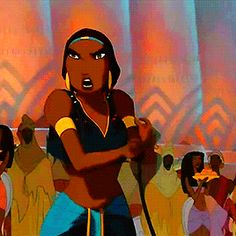 The Prince of Egypt Dreamworks Movies, Dreamworks Animation, Disney And Dreamworks, Animation Film, Disney Animation, Black Cartoon Characters, Black Girl Cartoon, Cartoon Tv Shows, Egyptian Movies