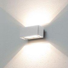 LED-Wandleuchte warmweiß, 12W, weiß, Außenbereich Wall Lights, Lighting, Home Decor, Led Wall Lights, Interior Decorating, Contemporary Design, Candles, Decorating, Ideas