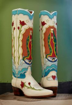 Virgin of Guadalupe boots, Rocketbuster